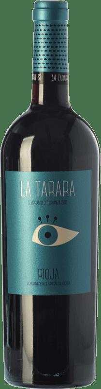 9,95 € Envío gratis | Vino tinto Obalo La Tarara Crianza D.O.Ca. Rioja La Rioja España Tempranillo Botella 75 cl