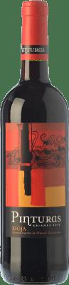 7,95 € Free Shipping | Red wine Obalo Pinturas Crianza D.O.Ca. Rioja The Rioja Spain Tempranillo Bottle 75 cl
