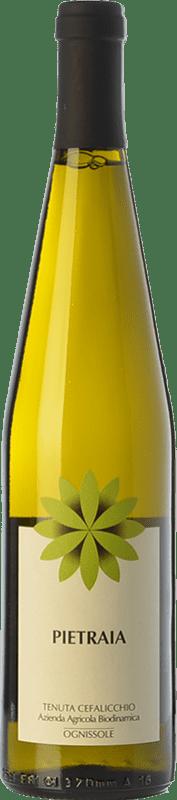 15,95 € Free Shipping | White wine Ognissole Bianco Pietraia D.O.C. Castel del Monte Puglia Italy Bombino Bianco, Chardonnay Bottle 75 cl