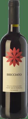8,95 € Free Shipping | Red wine Ognissole Brecciato I.G.T. Puglia Puglia Italy Nero di Troia Bottle 75 cl