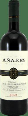 5,95 € Kostenloser Versand | Rotwein Olarra Añares Crianza D.O.Ca. Rioja La Rioja Spanien Tempranillo, Grenache, Graciano, Mazuelo Flasche 75 cl