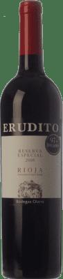 23,95 € Envoi gratuit   Vin rouge Olarra Erudito Especial Reserva D.O.Ca. Rioja La Rioja Espagne Tempranillo, Grenache, Graciano, Mazuelo Bouteille 75 cl