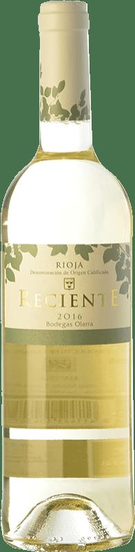 5,95 € Free Shipping | White wine Olarra Reciente Joven D.O.Ca. Rioja The Rioja Spain Viura Bottle 75 cl