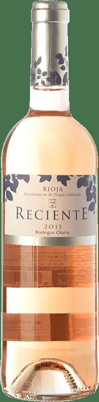 5,95 € Free Shipping | Rosé wine Olarra Reciente Joven D.O.Ca. Rioja The Rioja Spain Tempranillo Bottle 75 cl