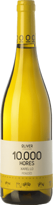 7,95 € Free Shipping | White wine Oliver 10.000 Hores D.O. Penedès Catalonia Spain Xarel·lo Bottle 75 cl