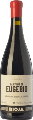 47,95 € Envío gratis | Vino tinto Olivier Rivière Las Viñas de Eusebio Crianza D.O.Ca. Rioja La Rioja España Tempranillo Botella 75 cl