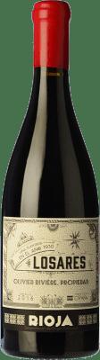 114,95 € Free Shipping | Red wine Olivier Rivière Losares Crianza D.O.Ca. Rioja The Rioja Spain Tempranillo, Graciano, Mazuelo Bottle 75 cl