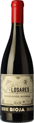 114,95 € Envío gratis | Vino tinto Olivier Rivière Losares Crianza D.O.Ca. Rioja La Rioja España Tempranillo, Graciano, Mazuelo Botella 75 cl