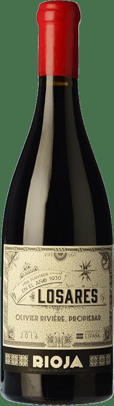 114,95 € Envoi gratuit   Vin rouge Olivier Rivière Losares Crianza D.O.Ca. Rioja La Rioja Espagne Tempranillo, Graciano, Mazuelo Bouteille 75 cl