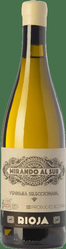 88,95 € Envío gratis | Vino blanco Olivier Rivière Mirando al Sur Crianza D.O.Ca. Rioja La Rioja España Viura Botella 75 cl