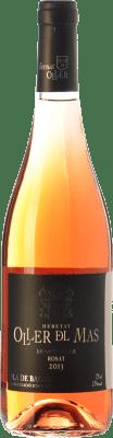 12,95 € Free Shipping | Rosé wine Oller del Mas Bernat Rosat D.O. Pla de Bages Catalonia Spain Merlot Bottle 75 cl