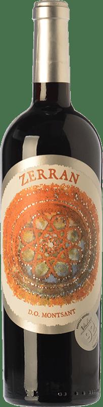 13,95 € Envío gratis | Vino tinto Ordóñez Zerran Joven D.O. Montsant Cataluña España Syrah, Garnacha, Cariñena Botella 75 cl