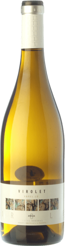 6,95 € Free Shipping | White wine Oriol Rossell Virolet D.O. Penedès Catalonia Spain Xarel·lo Bottle 75 cl