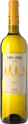 7,95 € Kostenloser Versand | Weißwein Oriol Rossell Xino-Xano Blanc D.O. Penedès Katalonien Spanien Muscat, Xarel·lo Flasche 75 cl