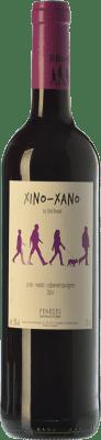 5,95 € Kostenloser Versand | Rotwein Oriol Rossell Xino-Xano Negre Joven D.O. Penedès Katalonien Spanien Merlot, Syrah, Cabernet Sauvignon Flasche 75 cl