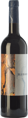 14,95 € Free Shipping | Red wine Orowines Bluegray Crianza D.O.Ca. Priorat Catalonia Spain Grenache, Cabernet Sauvignon, Carignan Bottle 75 cl