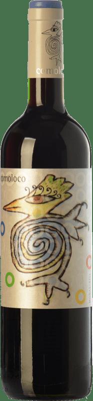 6,95 € Envoi gratuit | Vin rouge Orowines Comoloco Joven D.O. Jumilla Castilla La Mancha Espagne Monastrell Bouteille 75 cl