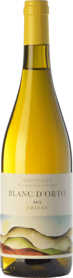 21,95 € Free Shipping | White wine Orto Blanc Brisat Crianza D.O. Montsant Catalonia Spain Grenache White Bottle 75 cl