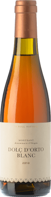 15,95 € Free Shipping | Sweet wine Orto Dolç Blanc D.O. Montsant Catalonia Spain Grenache White, Macabeo, Picapoll Half Bottle 37 cl