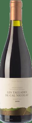 64,95 € Free Shipping | Red wine Orto Les Tallades de Cal Nicolau Crianza D.O. Montsant Catalonia Spain Picapoll Black Bottle 75 cl