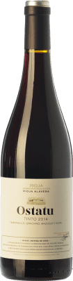5,95 € Kostenloser Versand   Rotwein Ostatu Cosecha Joven D.O.Ca. Rioja La Rioja Spanien Tempranillo, Graciano Flasche 75 cl