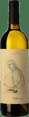 14,95 € Envío gratis | Vino blanco Oxer Bastegieta Marko D.O. Bizkaiko Txakolina País Vasco España Hondarribi Zuri Botella 75 cl