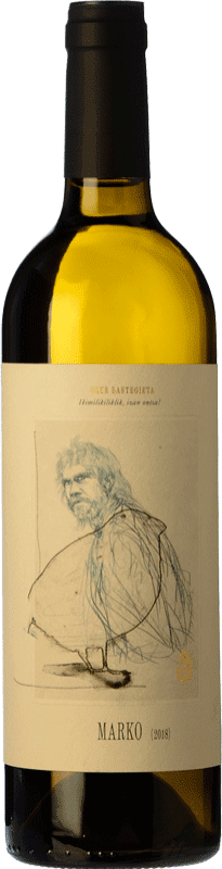 12,95 € Free Shipping | White wine Oxer Wines Marko D.O. Bizkaiko Txakolina Basque Country Spain Hondarribi Zuri Bottle 75 cl