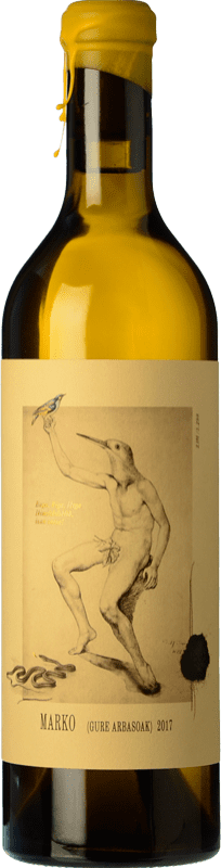 23,95 € Free Shipping | White wine Oxer Wines Marko Selección Especial Crianza D.O. Bizkaiko Txakolina Basque Country Spain Hondarribi Zuri, Petit Manseng, Hondarribi Zerratia Bottle 75 cl