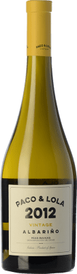 22,95 € Envoi gratuit | Vin blanc Paco & Lola Vintage Crianza D.O. Rías Baixas Galice Espagne Albariño Bouteille 75 cl