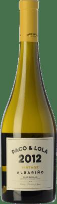 22,95 € Free Shipping | White wine Paco & Lola Vintage Crianza D.O. Rías Baixas Galicia Spain Albariño Bottle 75 cl
