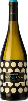 9,95 € Free Shipping | White wine Paco & Lola D.O. Rías Baixas Galicia Spain Albariño Bottle 75 cl | Thousands of wine lovers trust us to get the best price guarantee, free shipping always and hassle-free shopping and returns.