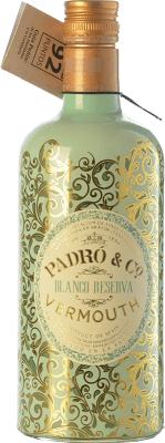 12,95 € Free Shipping | Vermouth Padró Blanco Reserva Catalonia Spain Bottle 70 cl