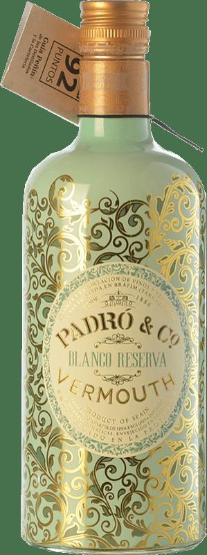 9,95 € Envoi gratuit | Vermouth Padró Blanco Reserva Catalogne Espagne Bouteille 70 cl