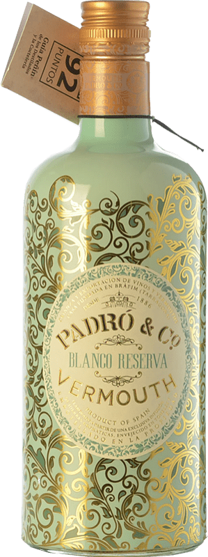 9,95 € Free Shipping | Vermouth Padró Blanco Reserva Catalonia Spain Bottle 70 cl