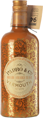 12,95 € Free Shipping | Vermouth Padró Dorado Amargo Suave Catalonia Spain Bottle 70 cl