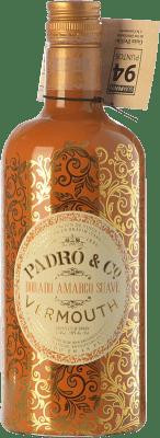 12,95 € Kostenloser Versand | Wermut Padró Dorado Amargo Suave Katalonien Spanien Flasche 70 cl