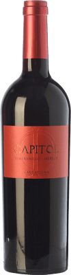 5,95 € Free Shipping | Red wine Padró Capitol Crianza D.O. Tarragona Catalonia Spain Tempranillo, Merlot Bottle 75 cl