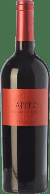 4,95 € Envío gratis | Vino tinto Padró Capitol Crianza D.O. Tarragona Cataluña España Tempranillo, Merlot Botella 75 cl