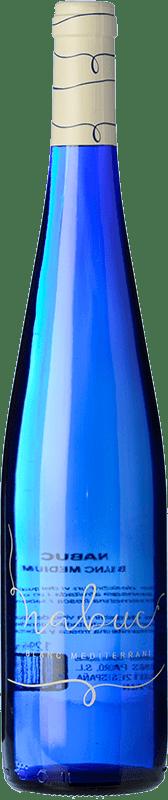 6,95 € Free Shipping | White wine Padró Nabuc Semi Dry Spain Grenache White, Muscat Bottle 75 cl