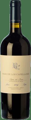 17,95 € Free Shipping | Red wine Pago de los Capellanes Roble D.O. Ribera del Duero Castilla y León Spain Tempranillo Bottle 75 cl
