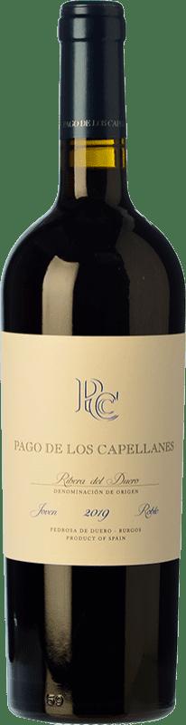 14,95 € Free Shipping | Red wine Pago de los Capellanes Roble D.O. Ribera del Duero Castilla y León Spain Tempranillo Bottle 75 cl
