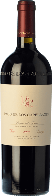 19,95 € Free Shipping | Red wine Pago de los Capellanes Crianza D.O. Ribera del Duero Castilla y León Spain Tempranillo Bottle 75 cl