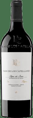 39,95 € Envoi gratuit | Vin rouge Pago de los Capellanes Reserva D.O. Ribera del Duero Castille et Leon Espagne Tempranillo, Cabernet Sauvignon Bouteille 75 cl