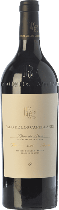 33,95 € Envoi gratuit   Vin rouge Pago de los Capellanes Reserva D.O. Ribera del Duero Castille et Leon Espagne Tempranillo, Cabernet Sauvignon Bouteille 75 cl