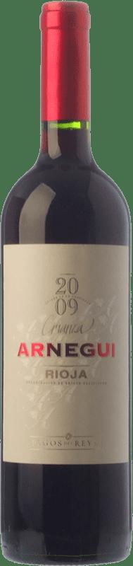 6,95 € Free Shipping | Red wine Pagos del Rey Arnegui Crianza D.O.Ca. Rioja The Rioja Spain Tempranillo Bottle 75 cl