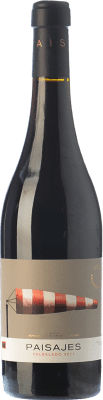 37,95 € Envío gratis | Vino tinto Paisajes Valsalado Crianza D.O.Ca. Rioja La Rioja España Tempranillo, Garnacha, Graciano, Mazuelo Botella Mágnum 1,5 L