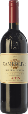 27,95 € Free Shipping | Red wine Paitin Campolive D.O.C. Barbera d'Alba Piemonte Italy Barbera Bottle 75 cl