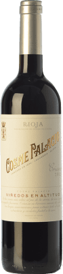 17,95 € Free Shipping | Red wine Palacio Cosme Crianza D.O.Ca. Rioja The Rioja Spain Tempranillo Bottle 75 cl