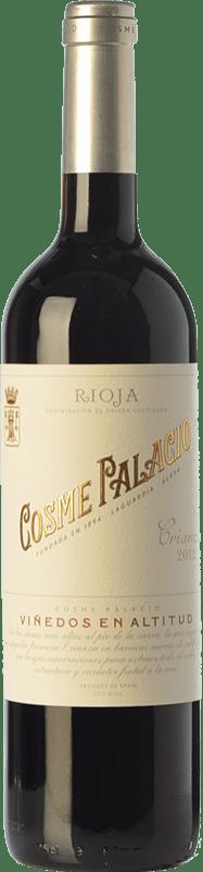 17,95 € Envoi gratuit | Vin rouge Palacio Cosme Crianza D.O.Ca. Rioja La Rioja Espagne Tempranillo Bouteille 75 cl