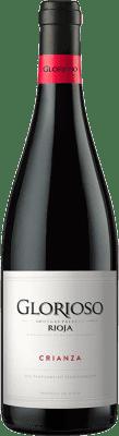6,95 € Kostenloser Versand | Rotwein Palacio Glorioso Crianza D.O.Ca. Rioja La Rioja Spanien Tempranillo Flasche 75 cl